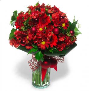 Ramo de flores de Navidad de Flora Queen, para los que no tienen tiempo.