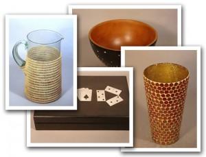 Artesanía producida en África y América y vendida en las tiendas OXFAM.