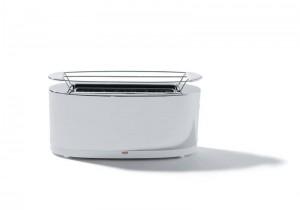 Tostadora de diseño ideal para tostar bollos.