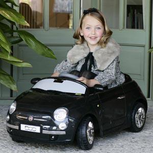 Coches para niños, el retro Fiat 500