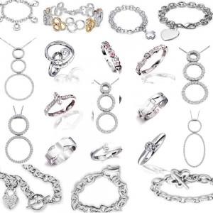 La variedad de joyas es interminable, seguro que encuentra algo que le guste a su persona amada.