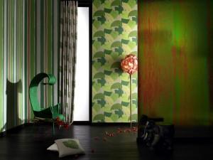 Nuevos papeles pintados, nuevas modas y materiales. De Barbara Becker.