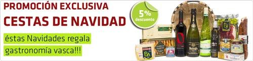 Oferta Lote de Navidad productos vascos de Euskal Produktuak