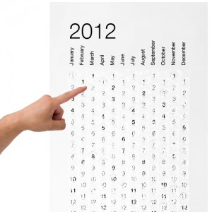 Divertidísimo calendario de burbujas para explotar los días que van pasando.
