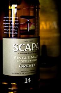 Scapa, otra gran marca de whisky escocés, que sólo los iniciados conocen.