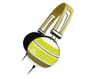 Los auriculares regresan, con más estilo y más calidad de sonido, los Zumreed ZHP-005 amarillos.