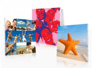 Fotos personales que se transforman en un cuadro, en un regalo y un recuerdo.