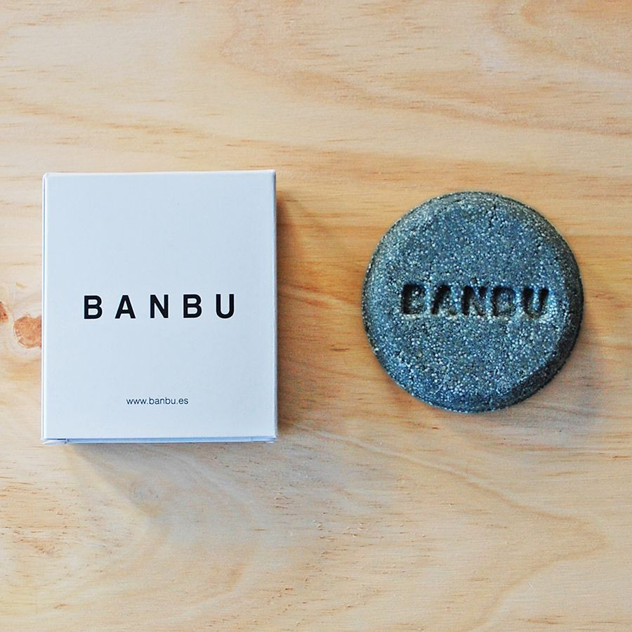 Champú ecológico banbú para cabello graso