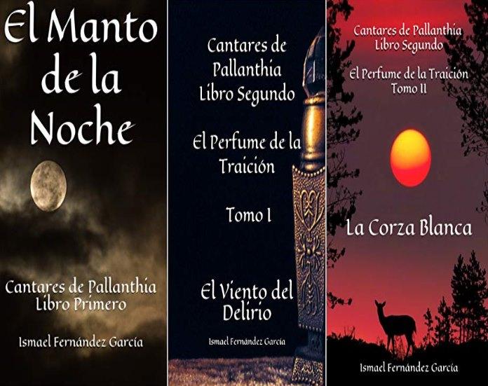 """Libro """"Cantares de Pallanthia"""" de Ismael Fernández García"""